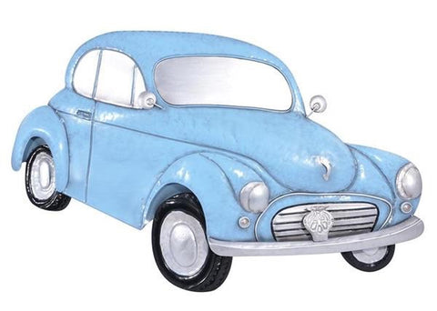 Morris Minor Large 3D Metal Car Wall Art Hanging - Home of Temptations Interior Design Furniture Decor & Gifts http://www.hotdesign.co.nz