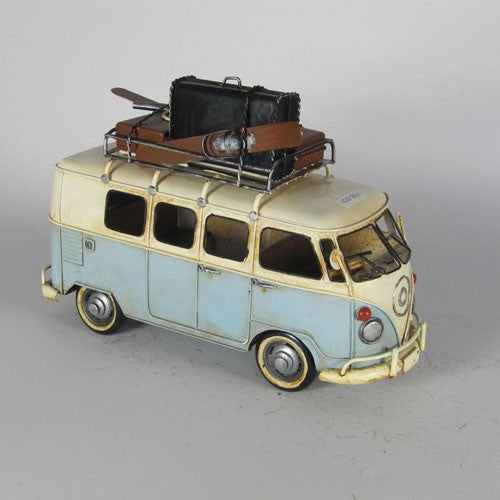 Vw Kombi Combi Van Snowmobile Model Ornament Home Of Temptations