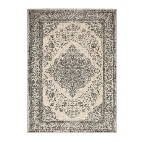 Grey Adonis Emperor Floor Rug - Traditional Turkish Design Inspiration