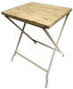 Industrial Table Villa Rustic Chic Wood Slat Table