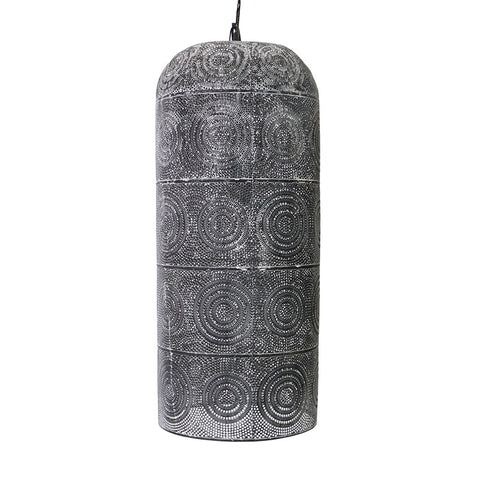 Ambient Emirate Pendant Lamp Light Rustic Black Wash