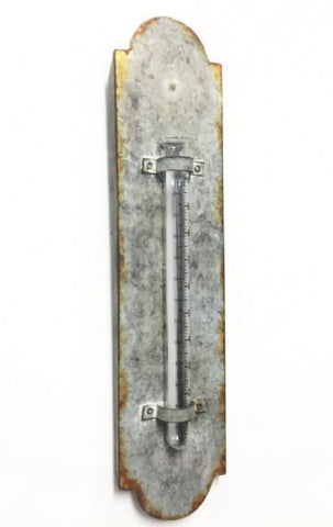 Galvanised Iron Large Rain Gauge - A Gardener's Delight - Home of Temptations Interior Design Furniture Decor & Gifts http://www.hotdesign.co.nz