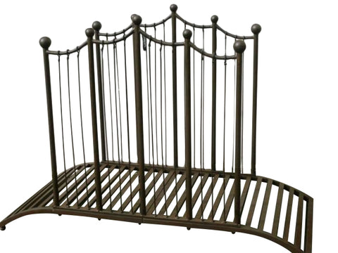Rustic Iron Garden Bridge Outdoor Garden Décor Villa Chic - Home of Temptations Interior Design Furniture Decor & Gifts http://www.hotdesign.co.nz