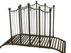 Rustic Iron Garden Bridge Outdoor Garden Décor Villa Chic