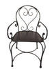 Provence Ornate Iron Alcove Or Dining Chair