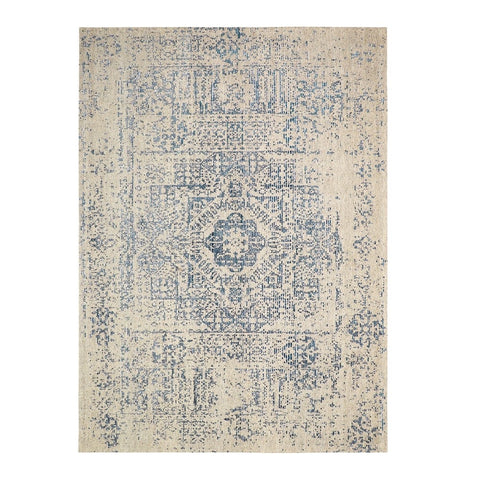 Nomad Grey/Blue Adonis Floor Rug - Traditional Turkish Design Inspiration
