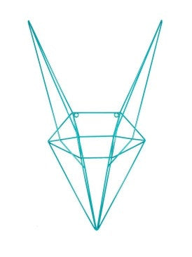 Geometric Fox Head Trophy Wall Art - Home of Temptations Interior Design Furniture Decor & Gifts http://www.hotdesign.co.nz