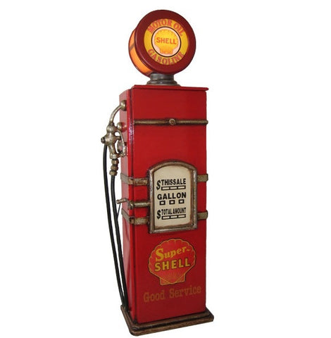 Shell Petrol Pump Bowser DVD Cabinet With Light Up Globe - Home of Temptations Interior Design Furniture Decor & Gifts http://www.hotdesign.co.nz
