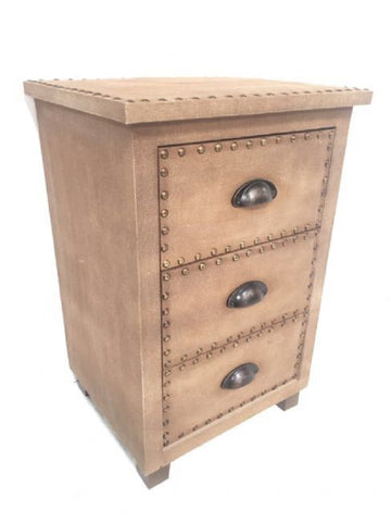 Armani Bedside Table Drawers Rustic Chic