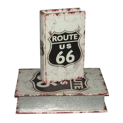Route 66 Car Lovers Leatherette Storage Boxes