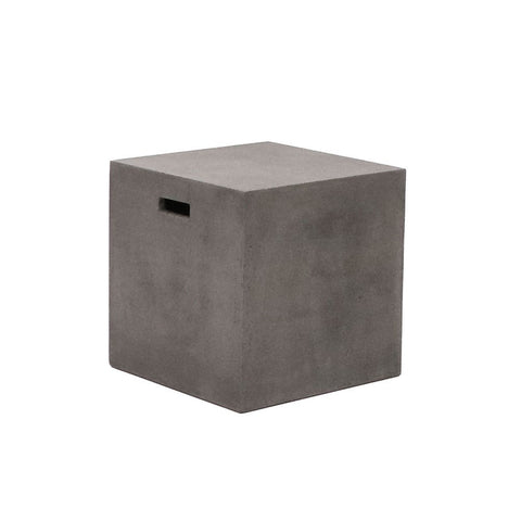Concrete Cube Side Table / Stool Modern Rustic Minimalist Design