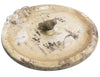 French Country Chic Bird Bath / Feeder Villa Style Gorgeous