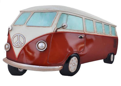 VW Kombi Combi Van 3D Metal Wall Art Hanging