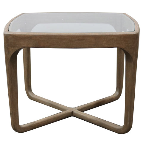 Old Beech Wood Cali Modern Side Table / Smaller Coffee Table
