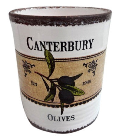 Moana Road Ceramic Pot Canterbury Olives Taste of New Zealand