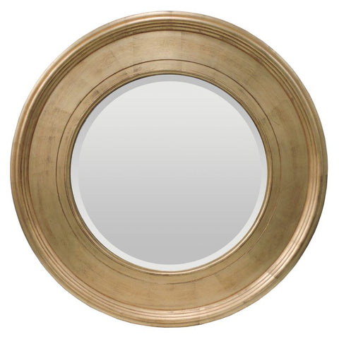 Antonia Shabby Chic Gold Large Mirror