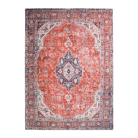 Keshan Red Adonis Floor Rug - Traditional Turkish Design Inspiration
