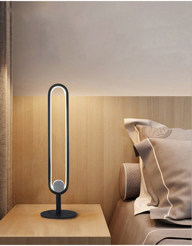 Camden LED Modern Geometric Minimalist Table Lamp Light