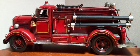 Replica Fire Truck Ornament - Vintage Styled & XL