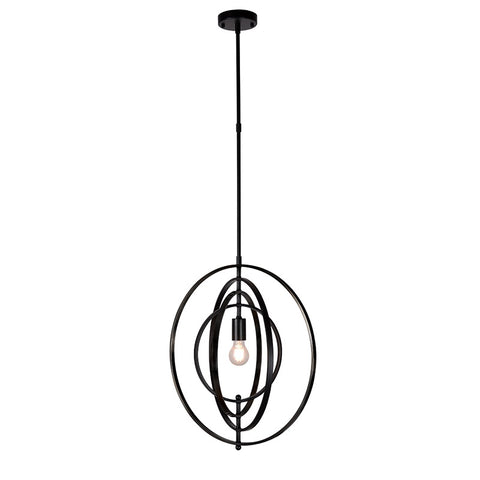 Abstract Modern Spiral Geometric Pendant Light (46cm)