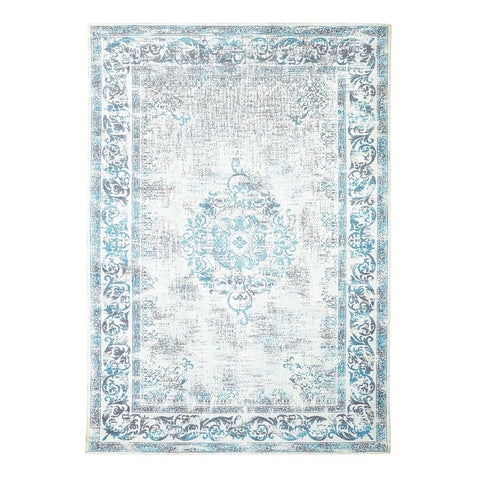 Adonis Emperor Blue Floor Rug - Traditional Turkish Design Inspiration 1.6 x 2.35m