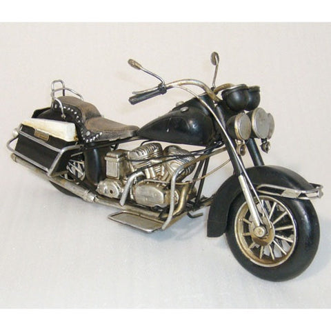 Vintage Styled Motorbike Model Replica Ornament (Black) - Home of Temptations Interior Design Furniture Decor & Gifts http://www.hotdesign.co.nz