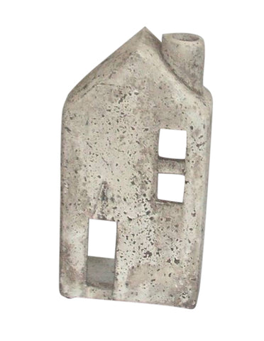 Terracotta Shabby Chic House Indoor Or Outdoor Garden Ornament (One of Three)