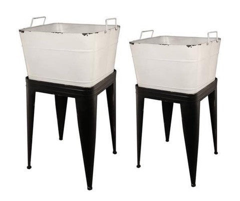 Attractive Laundry Tubs On Stands Storage Chic For Bathroom, Kitchen, Garage, Garden etc - Home of Temptations Interior Design Furniture Decor & Gifts http://www.hotdesign.co.nz
