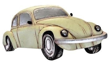 Beetle VW 'Herbie' 3D Metal Wall Art Hanging