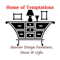 Home of Temptations Interior Design Furniture, Decor & Gifts Logo