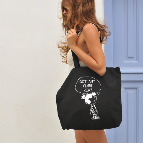 Got Any Chris Rea? Black Tote