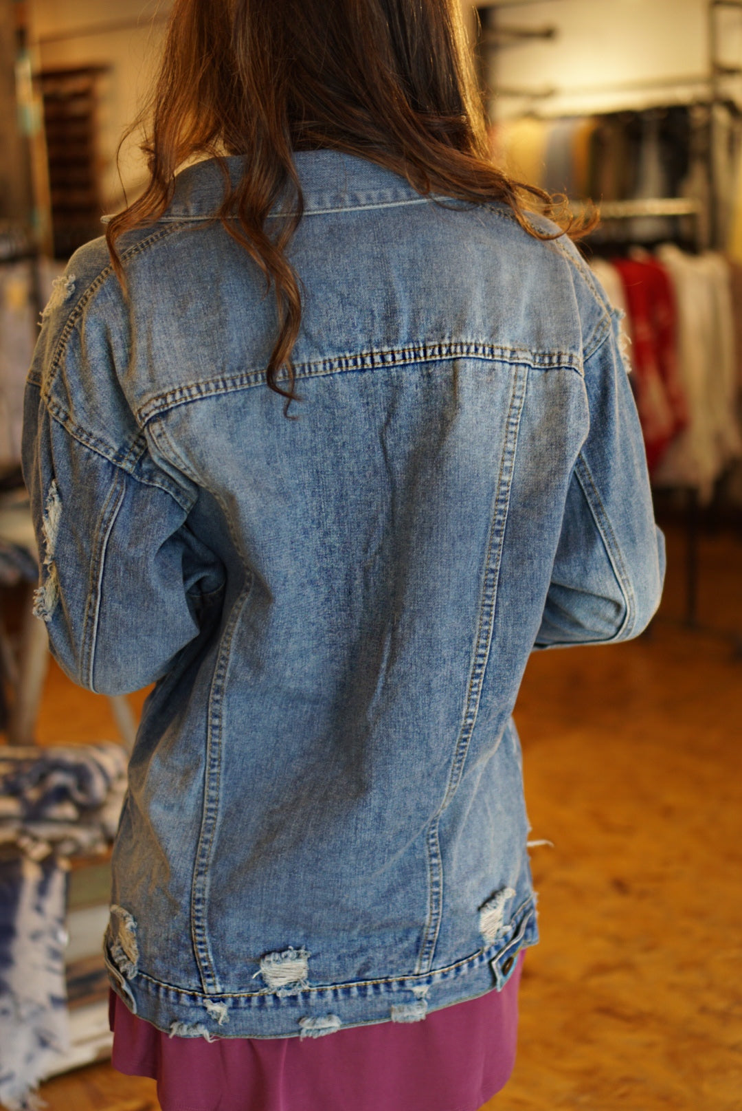 Over Sized Jean Jacket