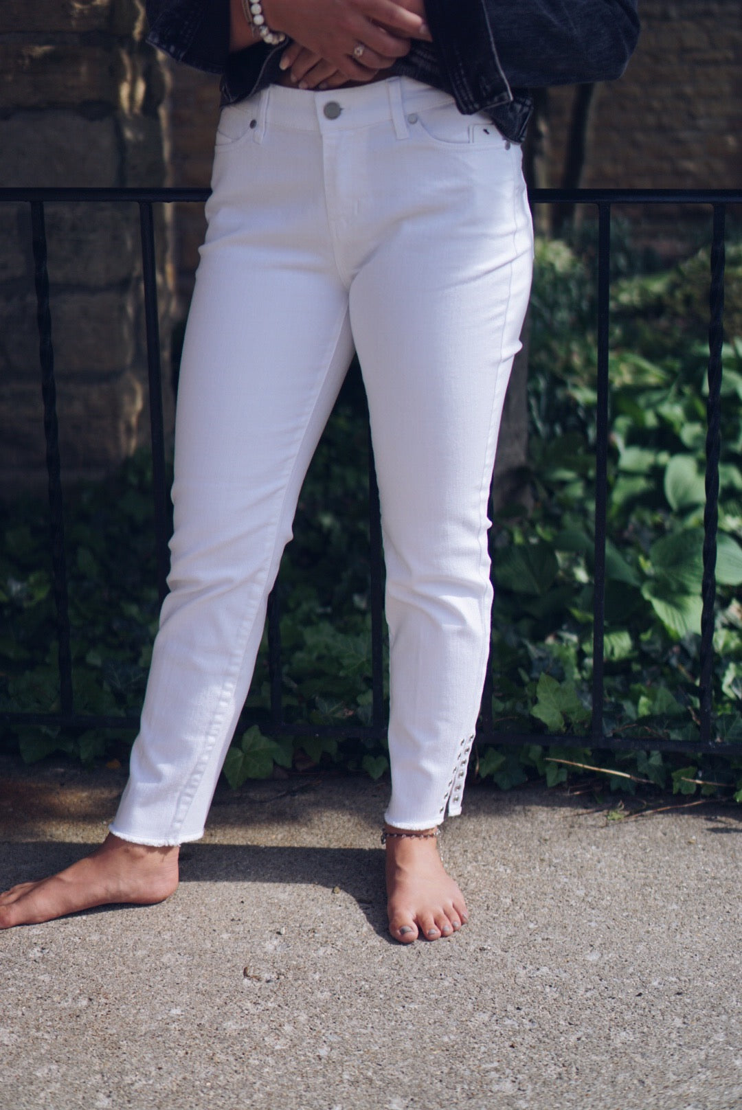 Bright White Jeans