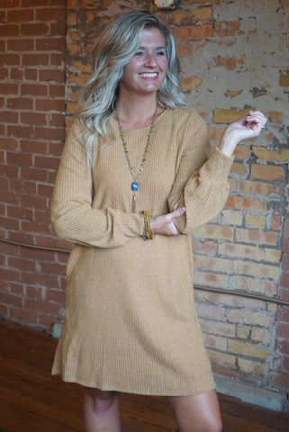Molly Suede Dress