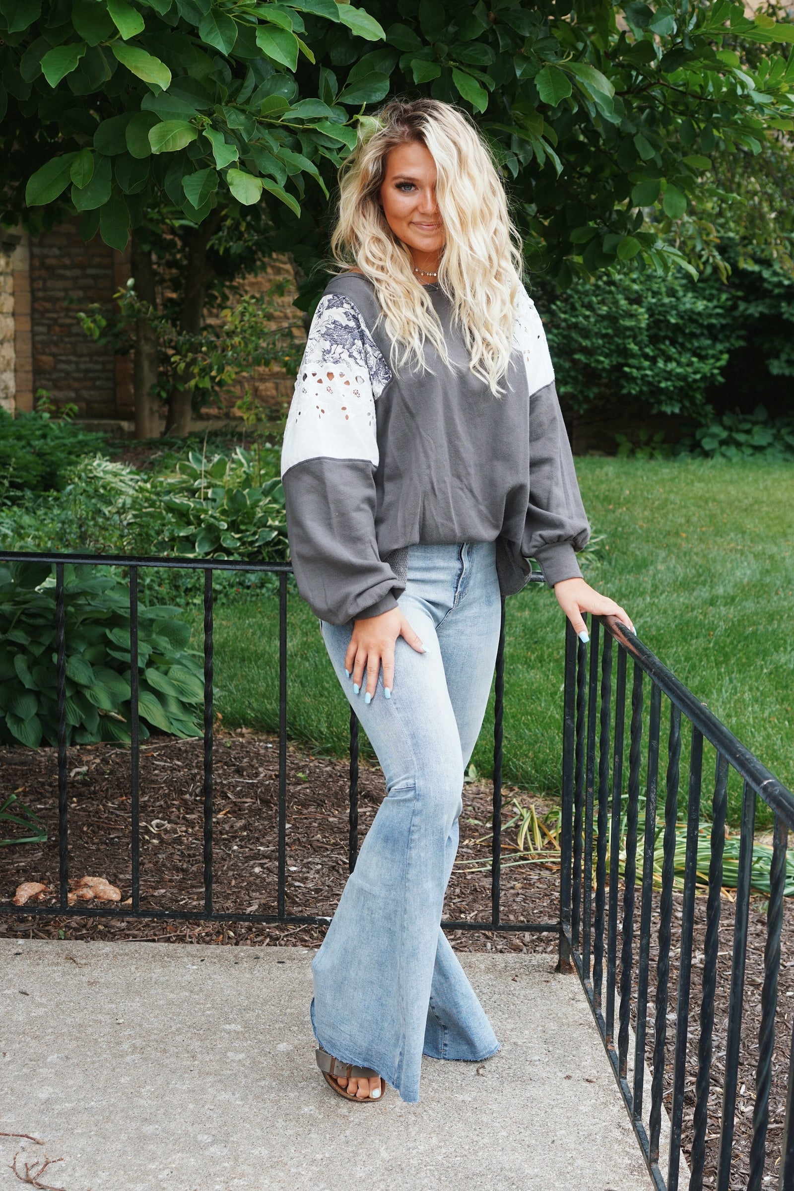 Totally Rad Medium Wash Bell Bottoms