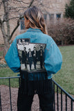 Custom Beatles Denim Jacket