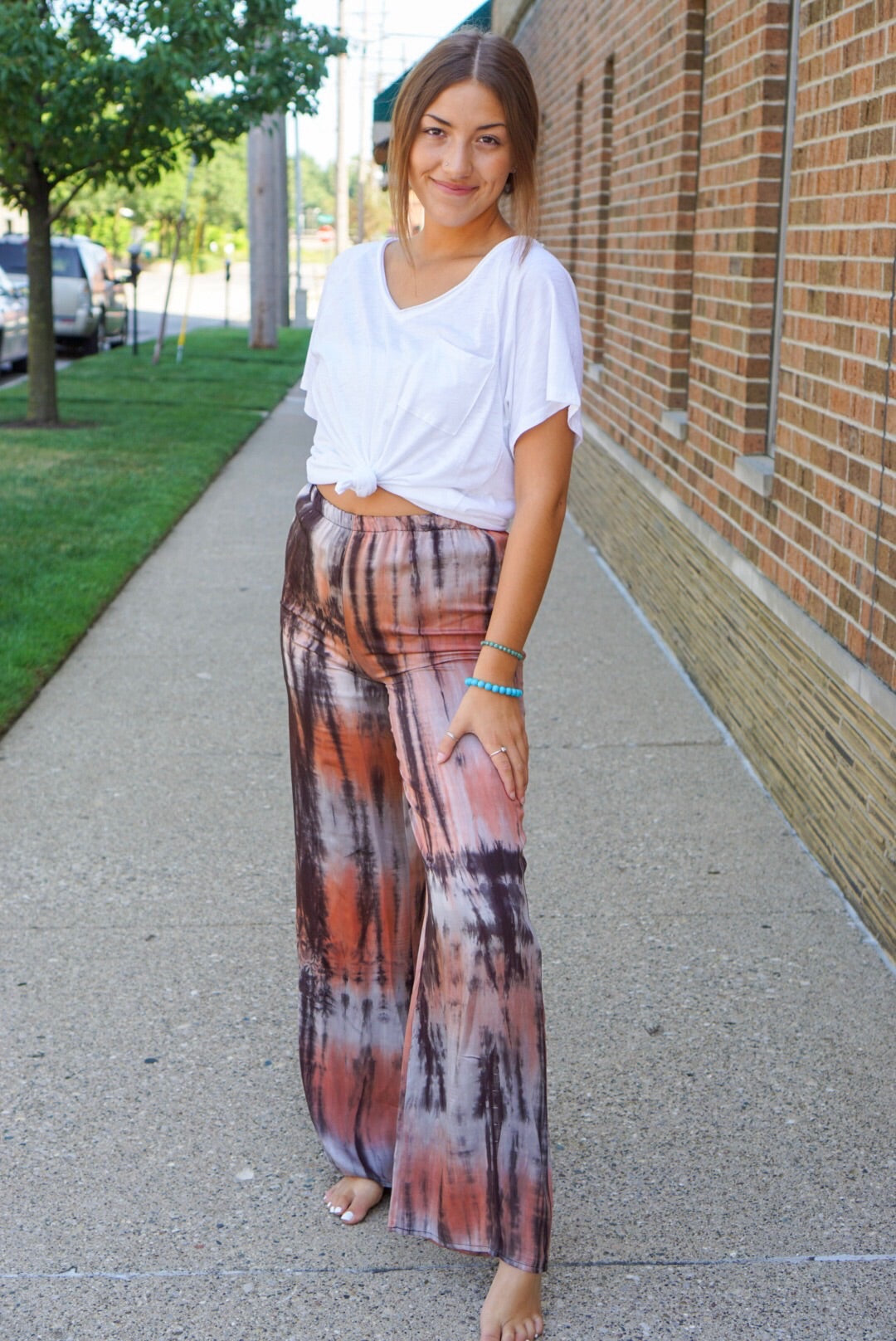 Rylie Sunset Tie Dye Pants