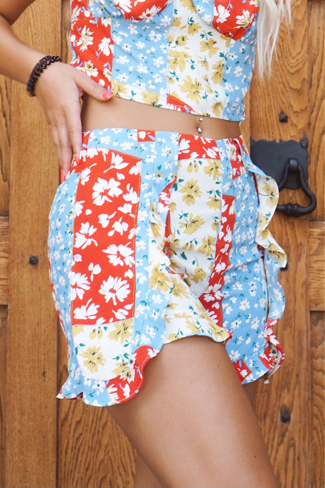 Final Sale- Florence Bay Multi Printed Shorts