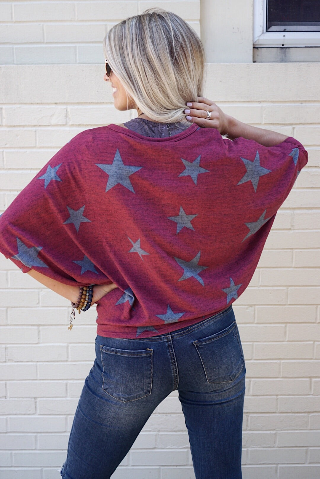 Sally Star Knit Top