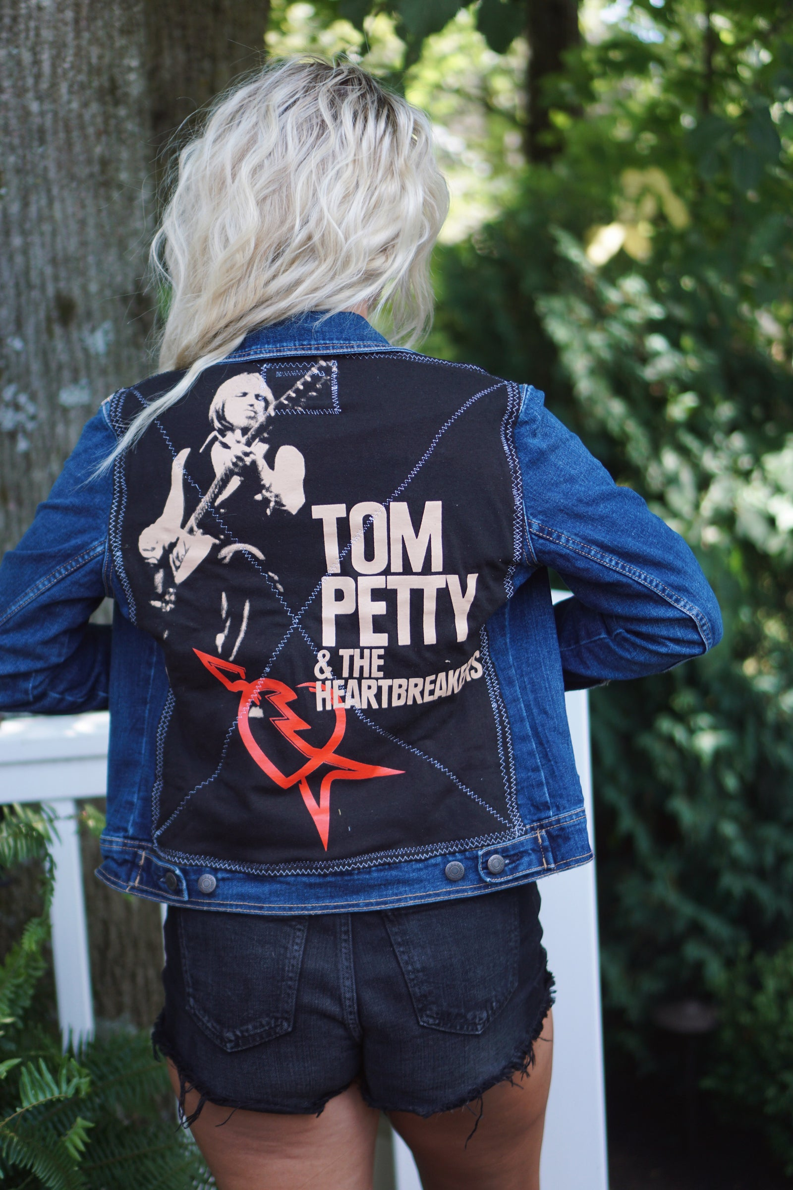 Tom Petty & The Heartbreakers Denim Jacket