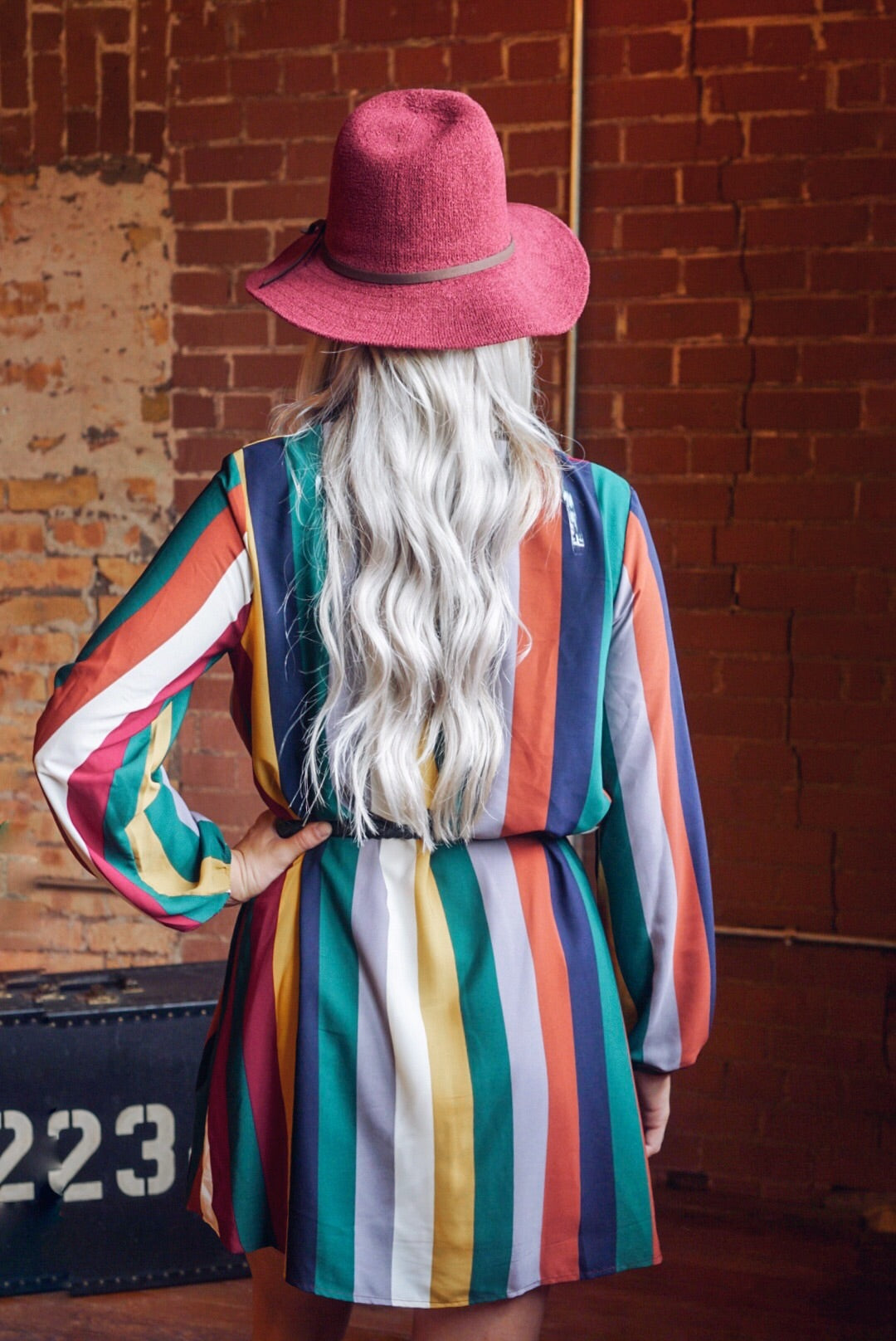 Shirley Striped Dress