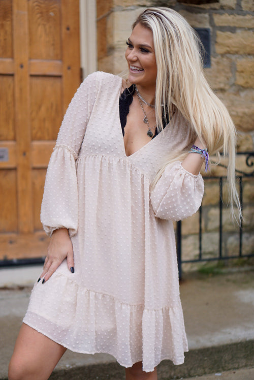 Rosemary Nude Dress