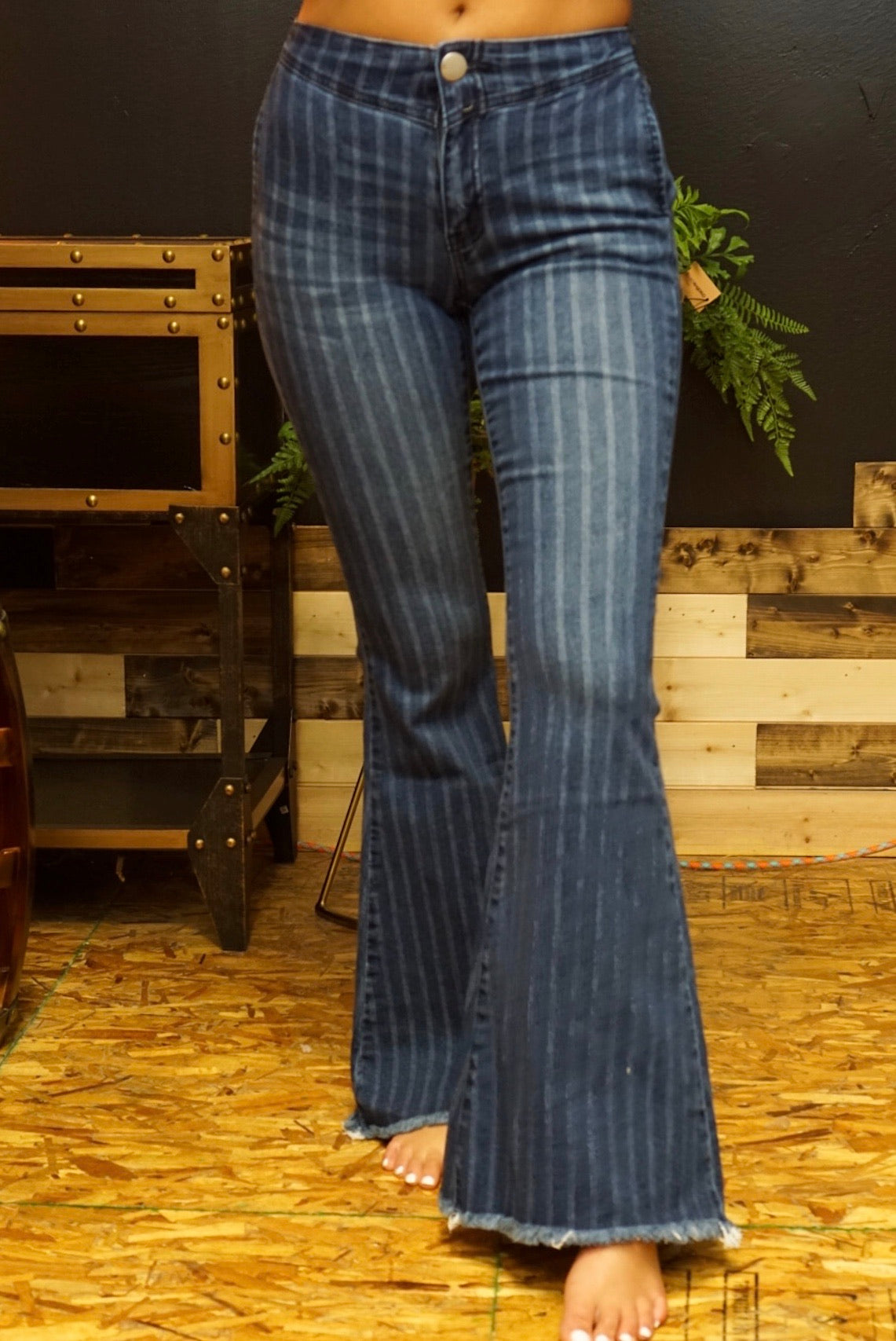 West Coast Vintage Denim Bell Bottoms