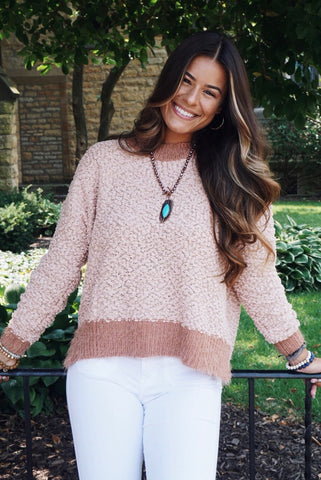 Alyssa Chenille Sweater
