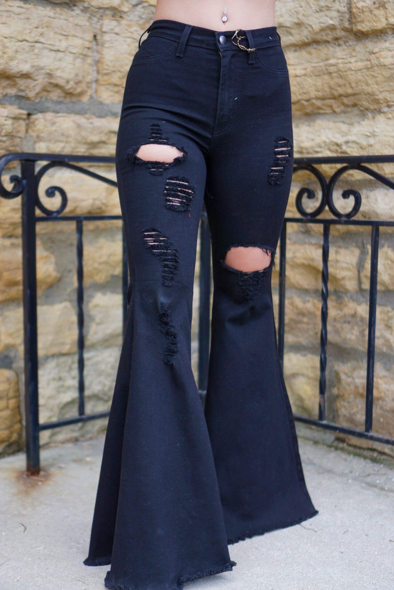 Meet Your Match Black Flares