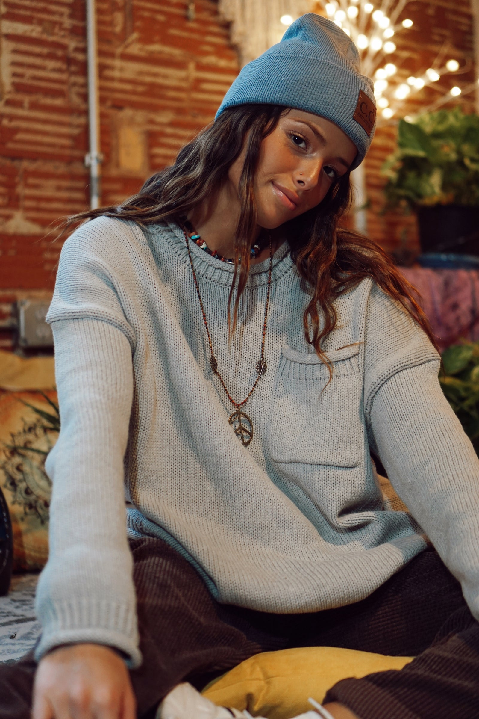FINAL SALE- Just A Whisper Heather Grey Sweater