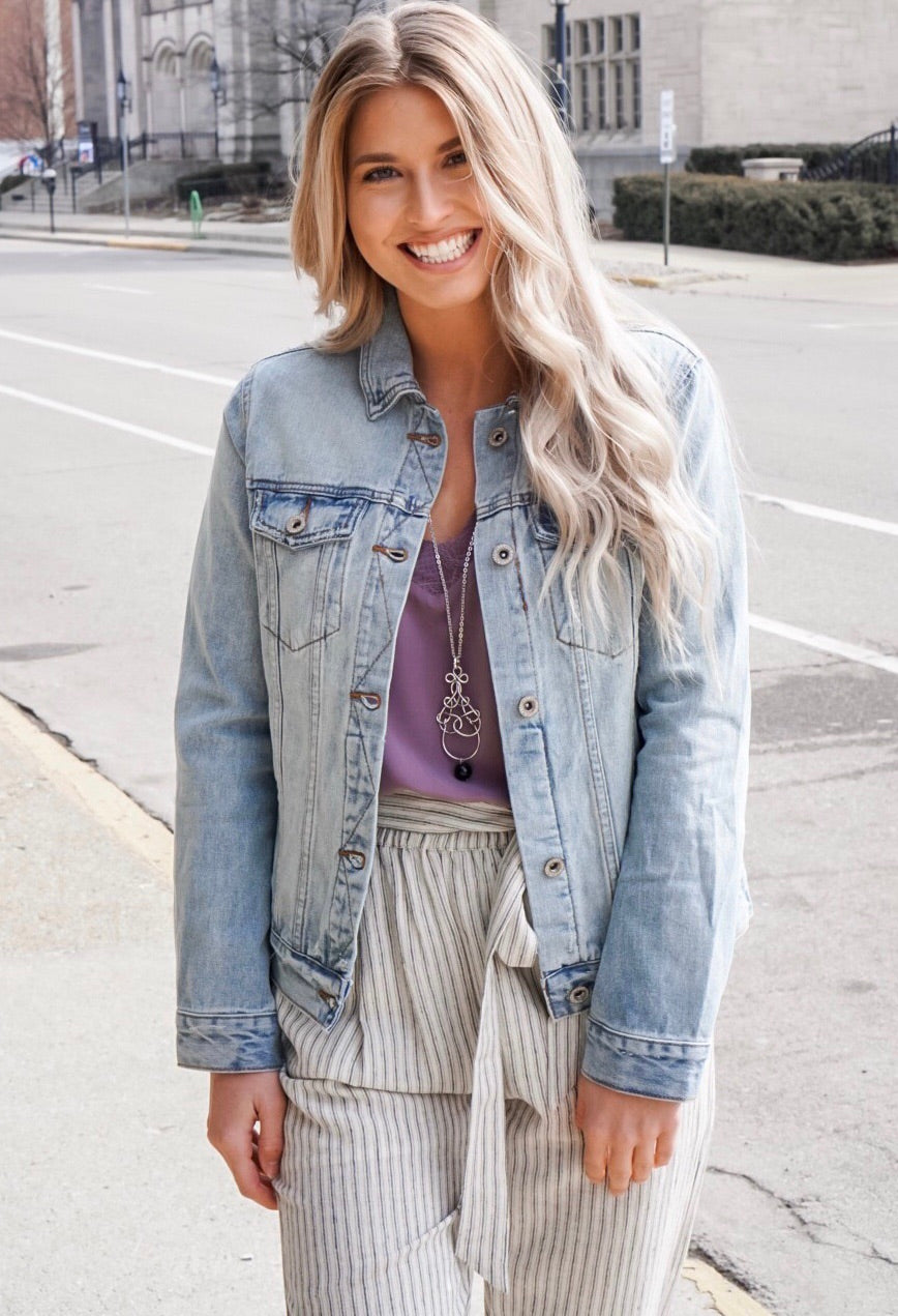Ex-Boyfriend Denim Jacket