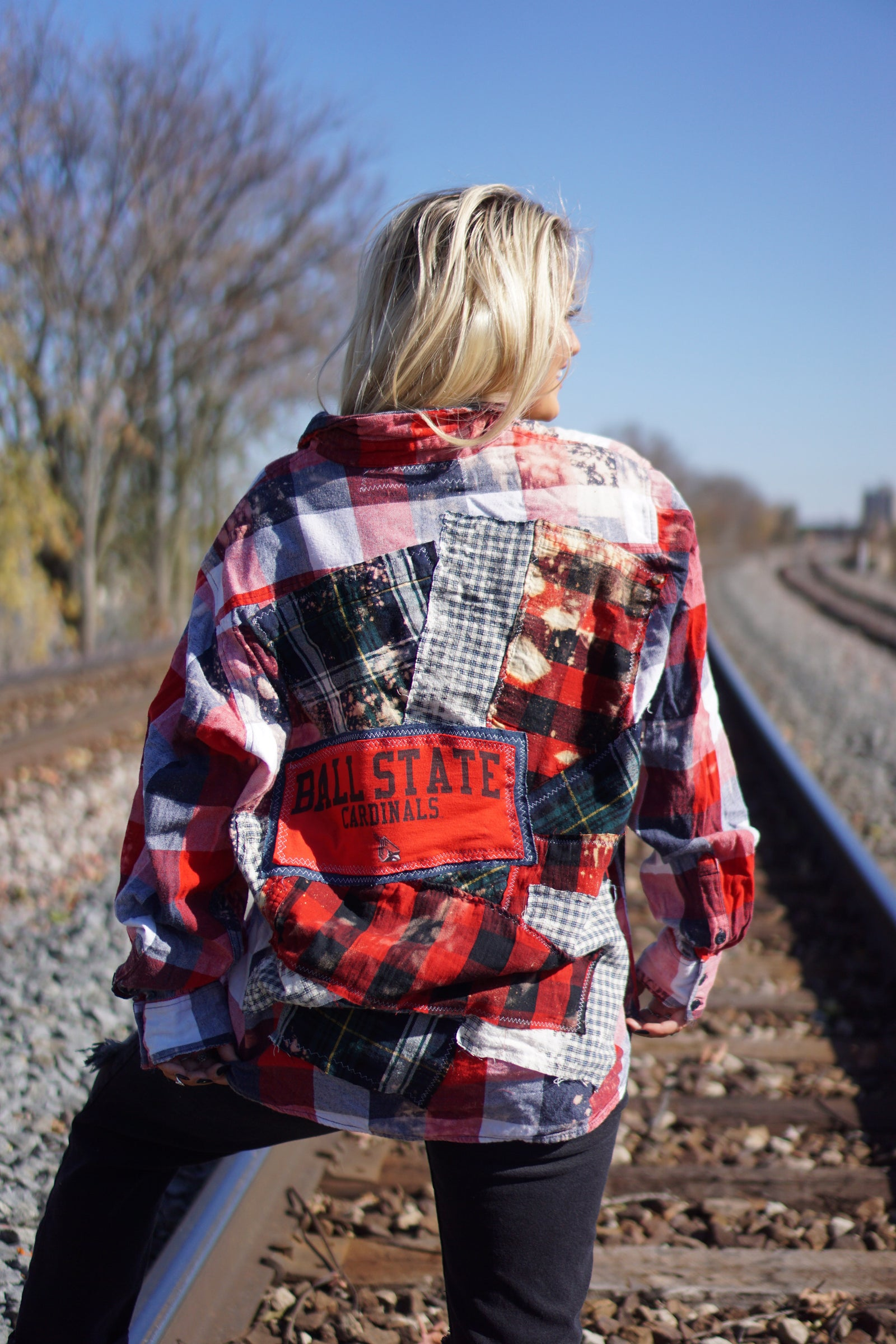 Custom Ball State Flannel