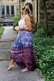 Rose Tie Dye Maxi Dress