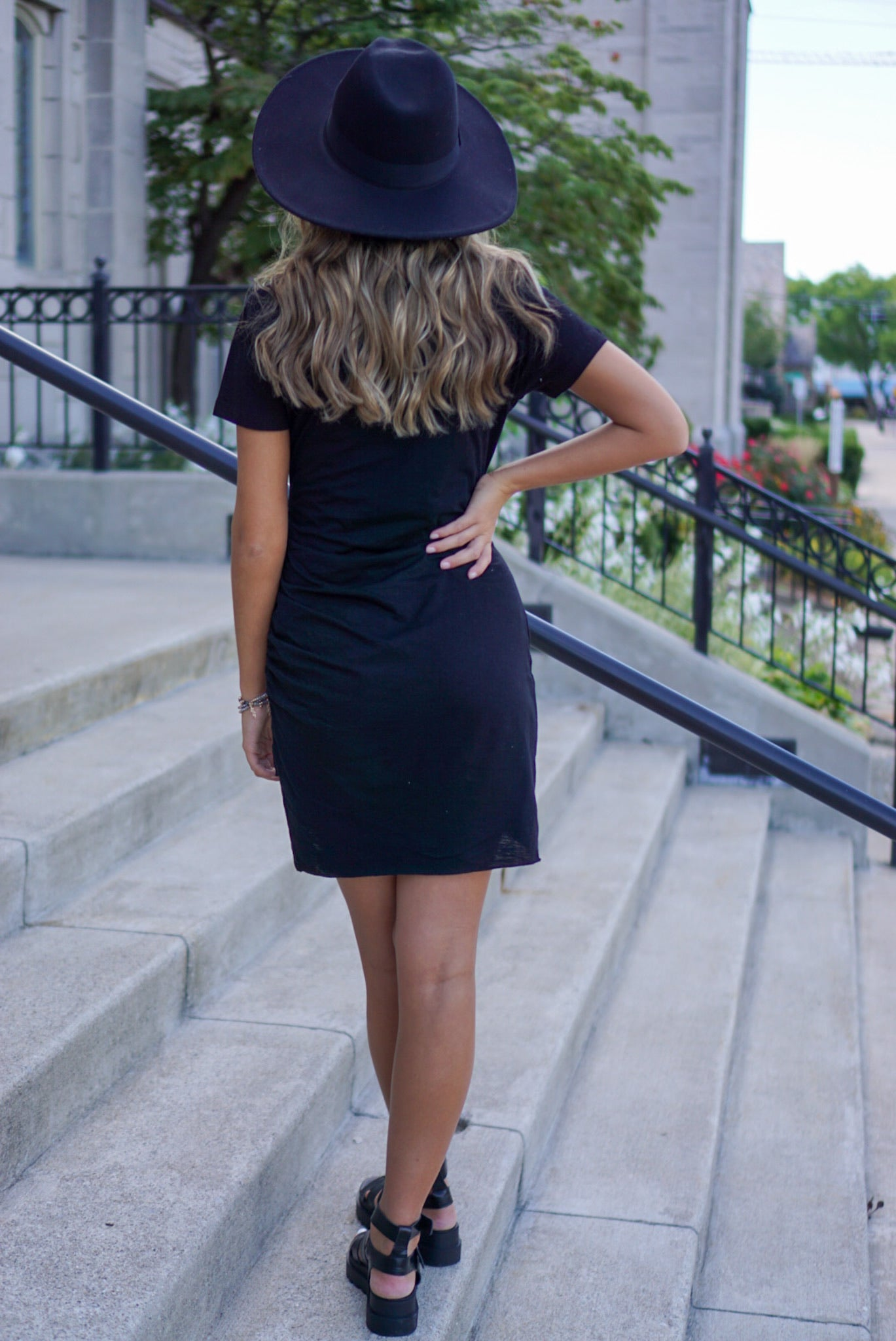 Valencia Black Dress